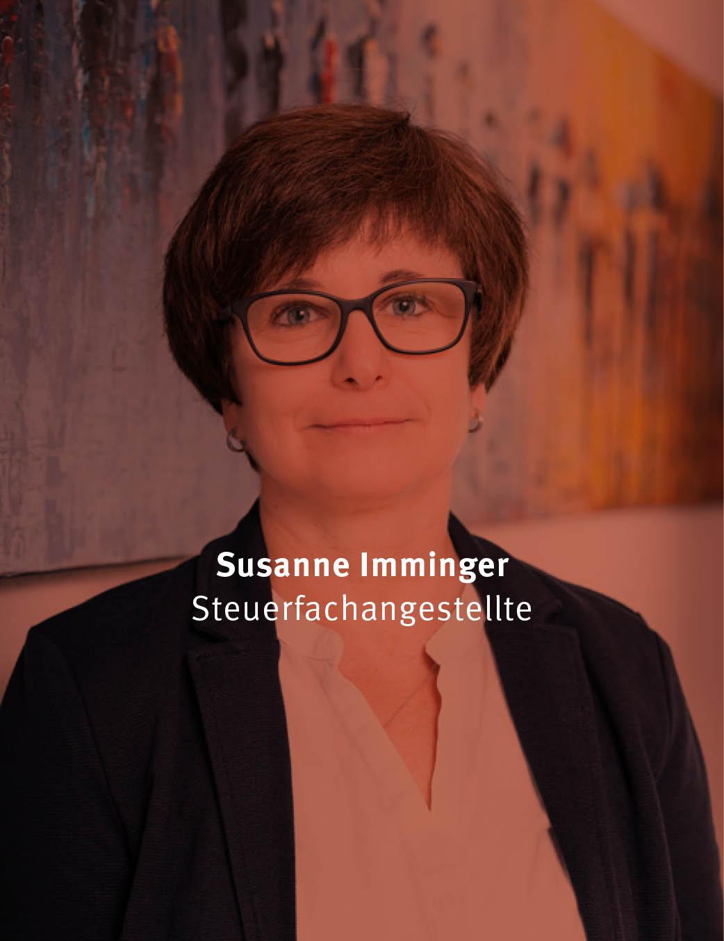 Susanne Imminger SteuerfachangestellteSteuerberater Langenau Klaiber, Lotspeich, Kneer, Anhorn, Stiele, Partnerschaft mbB, Steuer, Langenau